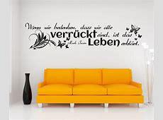 Wandtattoo Spruch Leben Wandsticker Zitate Zitat Weisheit