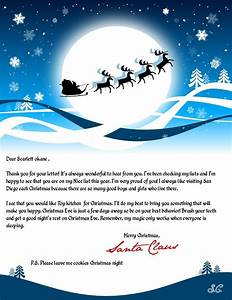 hear from santa claus receive a letter phone call email With santa claus letter online