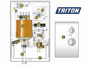 Triton Ivory Shower Spares And Parts