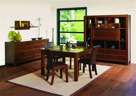 salle a manger bois exotique manger bois exotique table salle