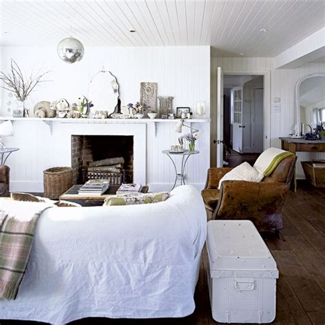 un cottage anglais tout blanc planete deco a homes world