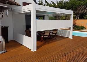 Bache Transparente Pour Terrasse : b ches toiles et stores pour terrasses et pergolas nantes ~ Dailycaller-alerts.com Idées de Décoration