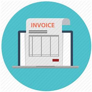 Bill, electronic invoice, invoice, online, order, paid ...