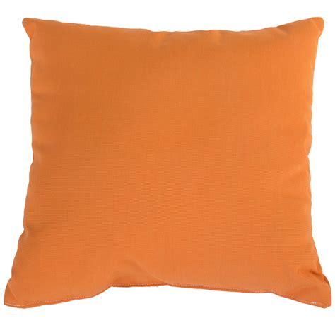 outdoor throw pillows tangerine sunbrella outdoor throw pillow dfohome