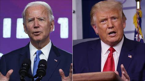 biden debate trump presidential joe donald between tonight