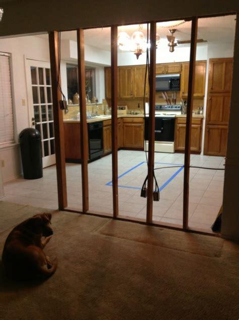 open split foyer landing  kitchen
