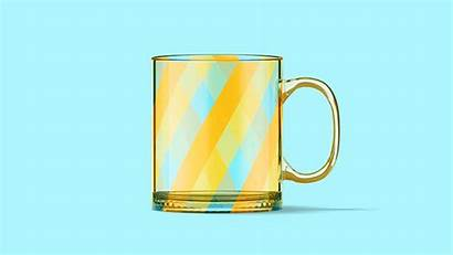 Mug Animated Glass Mockup Behance Youtu Ipa