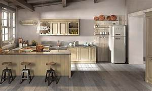 Lo stile cucine classiche country di berloni for Cucine berloni country