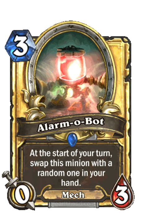Alarm O Bot Mage Deck by Alarm O Bot Hearthstone Heroes Of Warcraft Wiki Wikia
