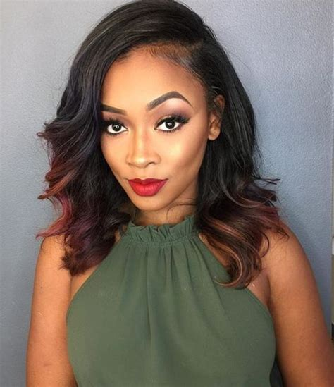 Sew In Hairstyles by 40 Gorgeous Sew In Hairstyles That Will Rock Your World