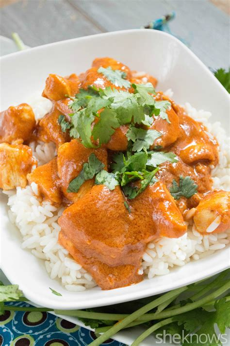 So it's an ideal dish to try. Slow Cooker Sunday: Indian butter chicken is a surprisingly easy dish - SheKnows