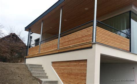 Balkongeländer Verkleidung Kunststoff by Alu Holz Balkone