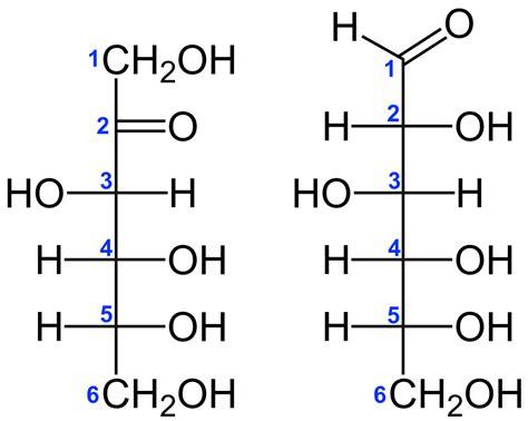 what is structural formula file d fructose vs d glucose structural formulae v 1 svg