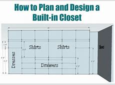How to plan and design a walk in closet Sawdust Girl®