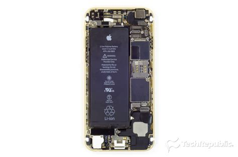 cracking open  apple iphone  techrepublic
