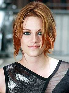 Kristen Stewart Debuts Red Hot Hair At Letterman And NYC