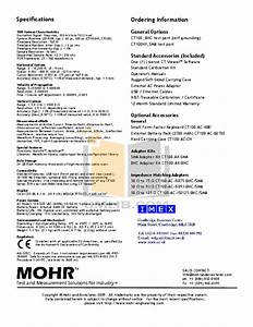 Pdf Manual For Behringer Other Ct100 Cable Tester