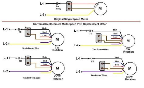Speed Blower Motor Wiring Diagram