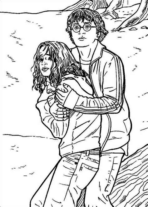 images  coloring pages lineart harry potter