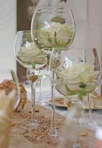 wedding centerpieces cheap tischdeko idee goldene hochzeit hochzeit hochzeit blume und brillen
