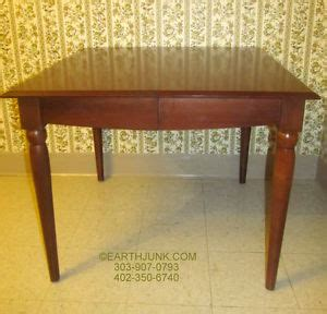 ethan allen american dimensions square dining room table