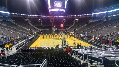 sprint center section  basketball seating