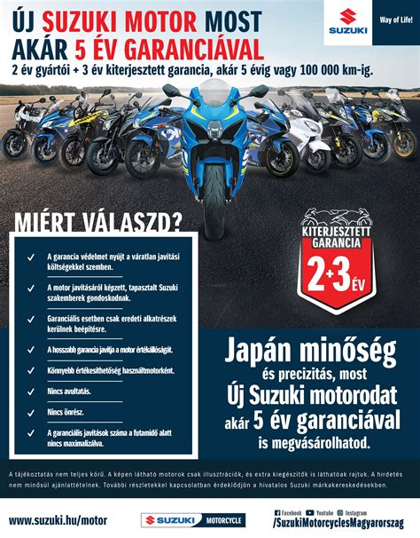 Suzuki Extended Warranty by Warranty For Up To 5 Years Suzuki Motor Magyar Suzuki Zrt