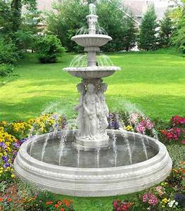 Water fountains front yard and backyard designs for Front yard fountains