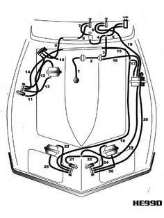 Corvette Heater Control Vacuum Schematic Odds