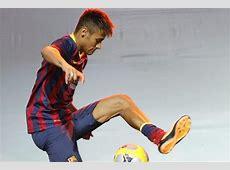 » Neymar's return serves as advertizing for Nike?