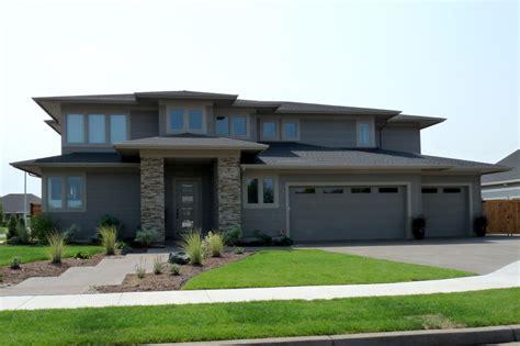 prairie style house prairie style plan the brookhill and a photo tour