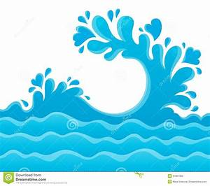 Background clipart ocean water - Pencil and in color ...