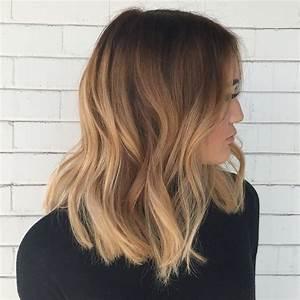 Balayage Cheveux Frisés : balayage ombr blond id es 2017 pour tout type et longueur de cheveux ~ Farleysfitness.com Idées de Décoration