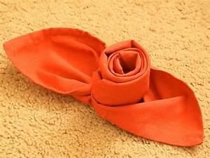 Pliage De Serviette En Tissu : pliage de serviette facile et original 40 id es ~ Nature-et-papiers.com Idées de Décoration