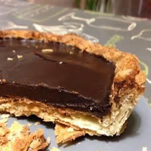 tarte au chocolat avec p 226 te feuillet 233 e maison recette de tarte au chocolat avec p 226 te feuillet 233 e