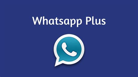 whatsapp plus apk v6 81 for android 2018