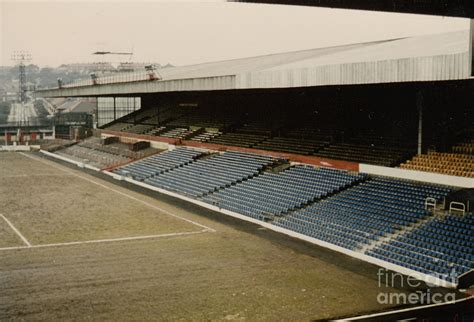 Ipad Wood Stand by Leeds Elland Road West Stand 2 1970s Photograph By