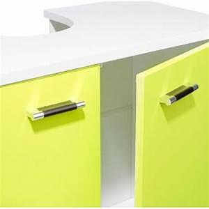 Meuble Sous Lavabo But : meuble sous lavabo gloss vert ~ Dode.kayakingforconservation.com Idées de Décoration