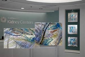 Glass wall art panels by kim merriman