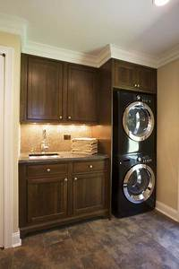small laundry room ideas Efficient Use Of The Space- 19 Small Laundry Room Design Ideas