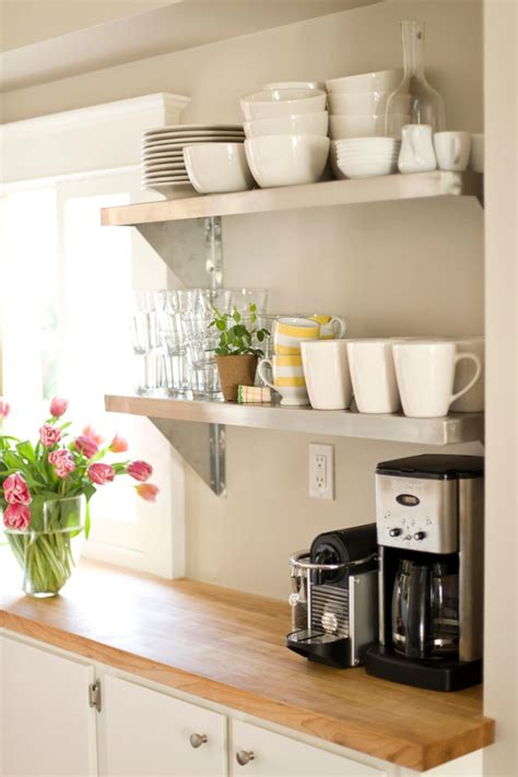 kitchen open shelving seattle home goes with a parisian inspired kitchen