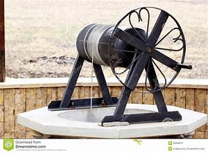 Old Water Well With Pulley Stock Image - Image: 35690611