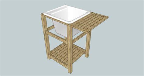 kohler utility sink stand oak utility sink stand by mc creations lumberjocks