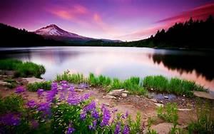 Mountain Lake & Sunset