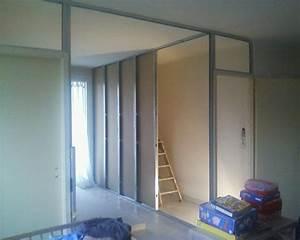 Separation Salon Chambre : s paration salon chambre annecy r novation annecy ~ Zukunftsfamilie.com Idées de Décoration