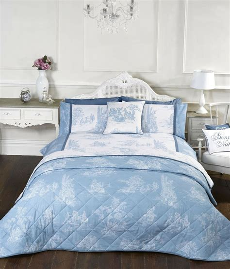 Duvet Covers Vintage Style vintage style blue quilt duvet covers or cushion cover or