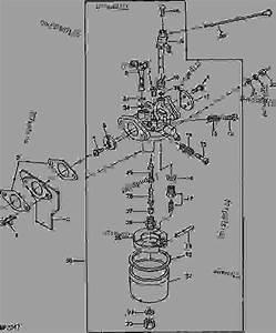 John Deere Amt 600 Carburetor