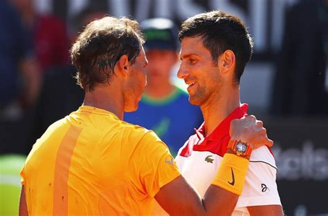 Tennis: Nadal downs Djokovic to set up Rome final