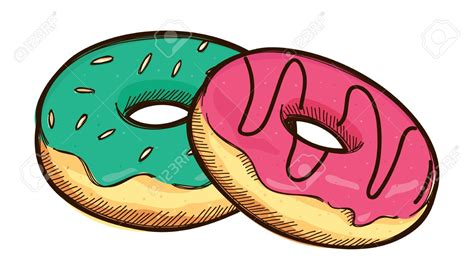 Donut Clipart Doughnut Clipart Stack Donut Pencil And In Color