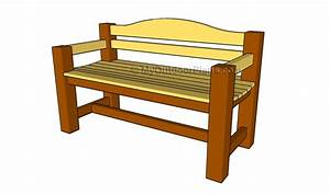 Plans For Wooden Bench PDF Woodworking